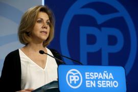 Cospedal: «Rita Barberá fue una magnífica política y una mujer honesta»