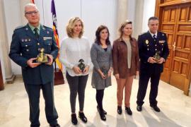 Maria Salom entrega en su primer acto oficial premios contra la violencia machista