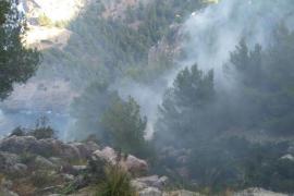 Controlado el incendio en la Mola de Tuent tras quemar 8,6 hectáreas