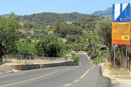 Paralizada la polémica reforma de la carretera entre Selva y Campanet