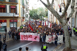 Los estudiantes vuelven a manifestarse contra la LOMCE y las reválidas
