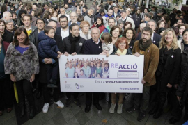 Armengol anima a la ciudadanía a sumarse a la 'ReAcció' contra la violencia machista