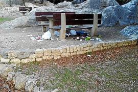 El alcalde de Escorca cerrará áreas recreativas si siguen los problemas de basura