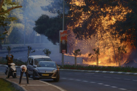Más de 80.000 personas evacuadas por una cadena de incendios en Israel
