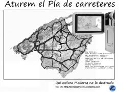 El GOB insta a Podemos y MÉS que no avalen el proyecto de la autopista Llucmajor-Campos