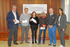 La Fundación Abel Matutes entrega 24.000 euros a Cruz Roja, Cáritas, Unicef y Manos Unidas