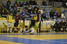 Primera derrota de la temporada del Palma Futsal