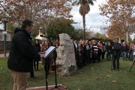 Inauguran un parque en Alcúdia en memoria de Xué Saura, víctima de la violencia machista