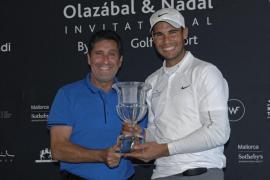 Nadal y su equipo se llevan la victoria en el Olazábal&Nadal Invitational