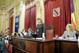 El president del Parlament podrá ser cesado con el voto de la mayoría de los diputados