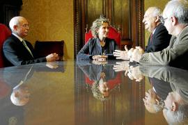 Calvo se reúne el lunes con el Real Mallorca para hablar del Lluís Sitjar