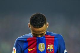 Neymar sale ileso de un pequeño accidente de coche