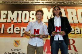 Nadal y Lorenzo reciben un premio por su promoción del deporte balear