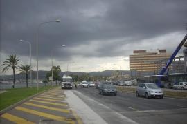 Cort quiere convertir en calle la autopista frente al Palacio de Congresos