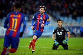 El Barcelona pincha en Anoeta y llega al 'Clásico' a 6 puntos del Madrid