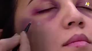 Polémica por un tutorial de un canal marroquí que enseña a las mujeres maltratadas a maquillarse los golpes