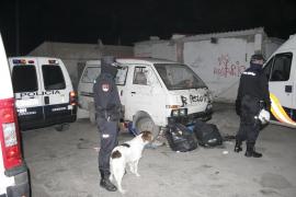 Nueva operación policial contra la droga en el poblado de Son Banya