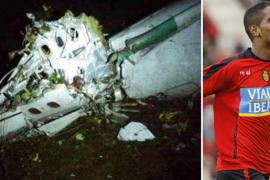 Cléber Santana, ex jugador del Real Mallorca, viajaba en el avión estrellado