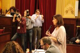 Armengol: «Estoy muy orgullosa de los presupuestos, claramente sociales»