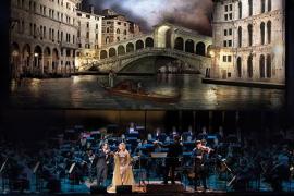 Proyección del concierto 'La dolce vita' en Capdepera