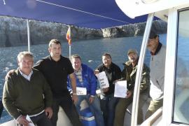 Los pescadores recreativos denuncian la  ausencia de señalización en la Reserva del Llevant