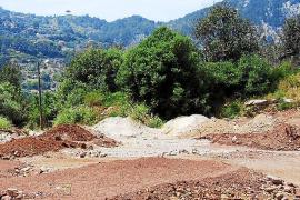 El yacimiento de Es Puig se 'beneficia' de una obra ilegal