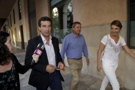 Company se 'predispone' este sábado a ser presidente del PP ante 70 cargos y con la ausencia de Vidal y Sagreras