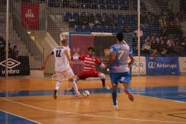 El Palma Futsal se topa ante el muro del Magna Gurpea