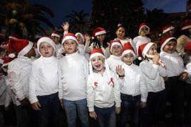 Santa Eulària inaugura su árbol de Navidad