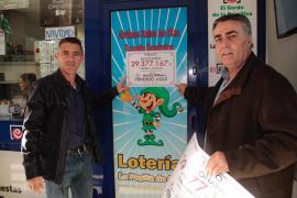 Antonio Martín, propietario de la administración: «Es una alegría enorme»