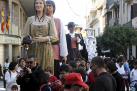PALMA UH DB MISA SANTA MARIA LA MAJOR DE INCA I GEGANTS. FOTO: JOAN L