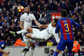 El clásico entre Barça y el Real Madrid