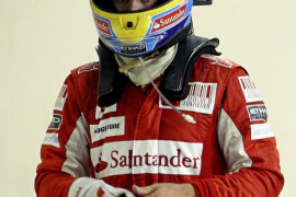 """Fernando Alonso """"más enamorado que nunca"""" de Ferrari pese a la derrota"""
