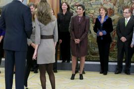 Felipe y Letizia, de recepción