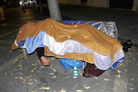 Más del 85 por ciento de las personas sin hogar son hombres