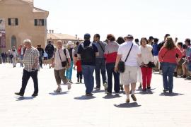 Los turistas extranjeros gastan en Balears un 10,5 % más que hace un año