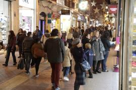 Los comercios de Mallorca viven el mejor noviembre de los últimos siete años