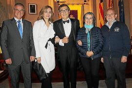 Javier Cortés, en la Reial Acadèmia de Medicina