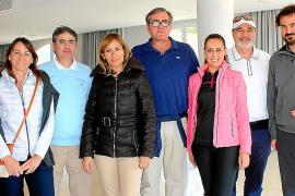Entrega de trofeos del I Torneo de golf APD