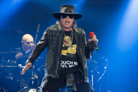Los Guns n' Roses de Axl y Slash confirman fechas en Bilbao y Madrid