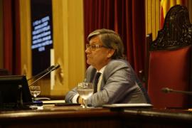 El PSIB remite al reglamento del Parlament si se confirma la expulsión