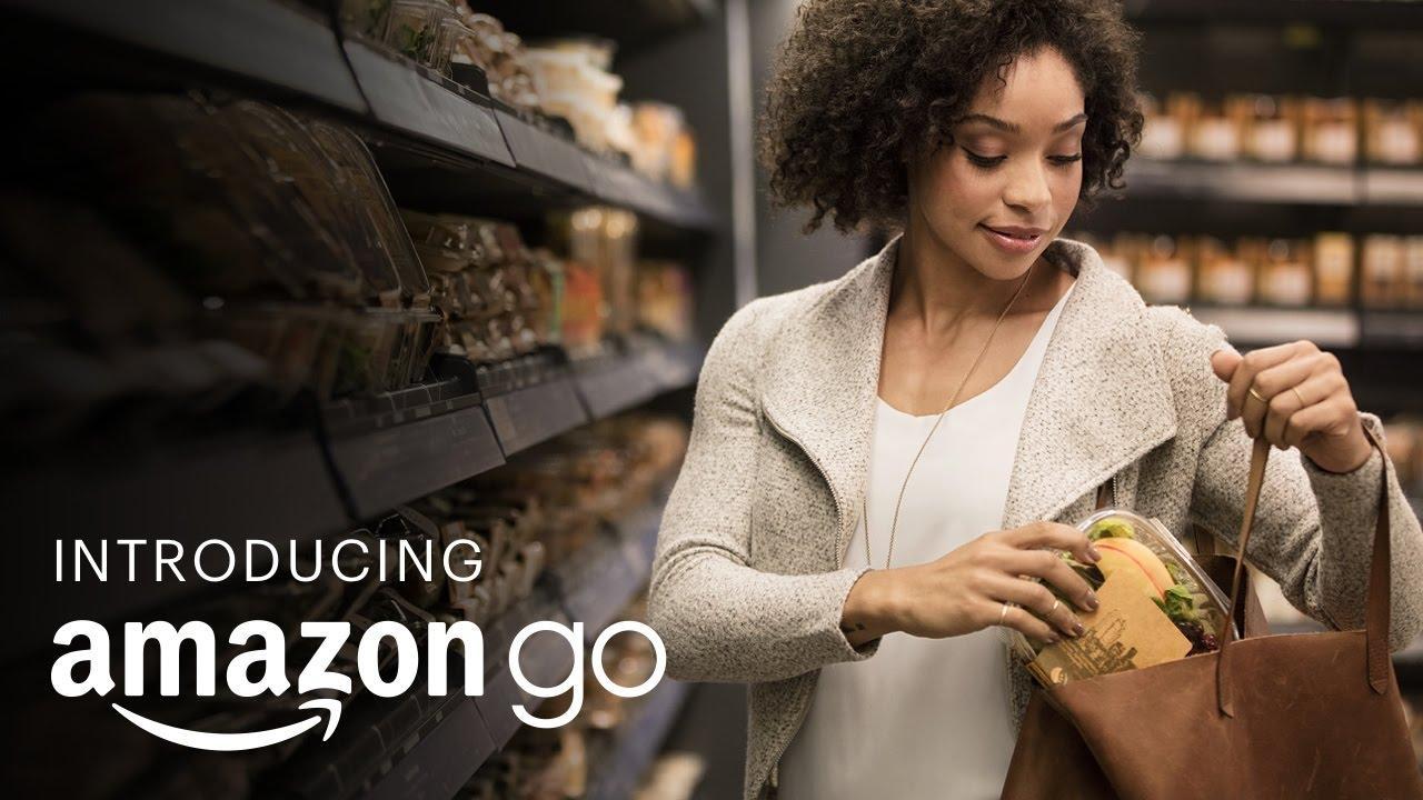 Amazon lanza una línea de supermercados donde se compra sin pasar por caja