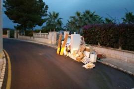 Localizados 49 vertidos ilegales de residuos en Calvià en cinco meses