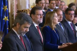 Rajoy reclama no frivolizar ante una posible reforma de la Constitución
