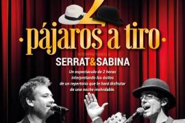 'Dos pájaros a tiro', un tributo a Serrat y Sabina en Son Servera