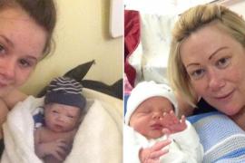Una mujer británica da a luz a su nieto concebido con óvulos congelados de su hija