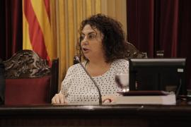 A MÉS le gustaría colocar a Joana Aina Campomar de presidenta del Parlament si cae Xelo Huertas