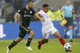 El Sevilla se mete en octavos tras empatar en Lyon
