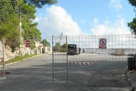El mirador de la Costa dels Pins se reforma para garantizar la seguridad de la zona