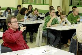 Nueva cata científica en la UIB, en esta ocasión de vinos Pla i Llevant-Mallorca